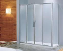 bathroom fantastic teal frosted sliding glass shower doors decor