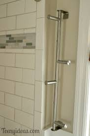 Towel Holders For Small Bathrooms We Now Have A Towel Bar Teeny Ideas