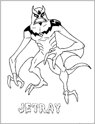 jetray coloring page coloring home