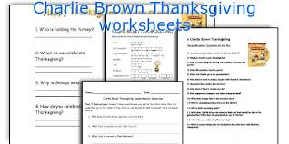 teaching worksheets brown thanksgiving