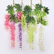 Home Flower Decoration Online Get Cheap Purple Flower Vine Aliexpress Com Alibaba Group