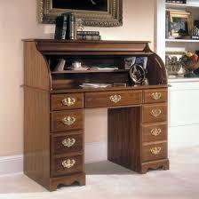furniture classic rolltop computer desk for antique study desk