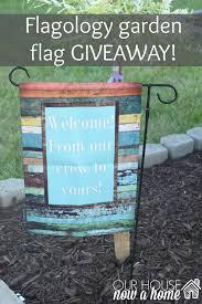 Monogram Garden Flag Garden Flag Giveaway U2022 Our House Now A Home