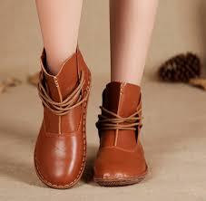 womens boots handmade free shipping 2015 mori comfortable flat shoes handmade vintage