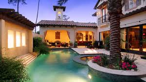 Style House by Mexican Hacienda Style House Youtube
