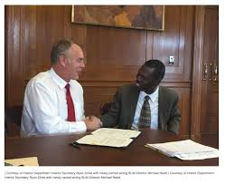 Who Is The Head Of The Department Of Interior Secretary Zinke Names Mike Nedd As New Acting Director Of Blm