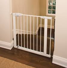 munchkin easy close metal safety gate easy close walk thru gate