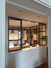cuisine verriere interieure fabriquer sa verriere interieure luxury cuisine avec verri re huis