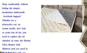 air dream ultra replacement air chamber queen 60x72 youtube