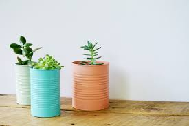 How To Make A Succulent Planter by Easy Diy Tin Can Planters