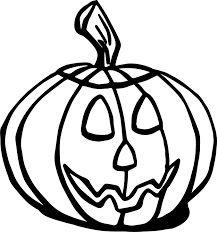 halloween fall pumpkin coloring page wecoloringpage