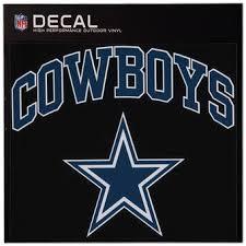 Dallas Cowboys Home Decor Dallas Cowboys Decals Car Decal Window Die Cut Auto