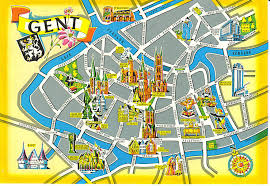 belgium city map afbeeldingsresultaat voor map gent places city