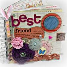 friends photo album best friend a z friendship scrapbook photo mini album atc a to z