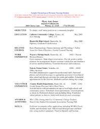 resume format for nursing nursing college student resume exles listmachinepro