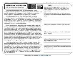 printables reading worksheets 4th grade ronleyba worksheets