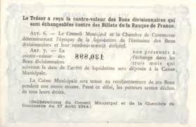 chambre de commerce de rouen rouen 1920 billet de nécessité de la chambre de commerce à voir