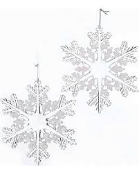 don t miss this deal kurt adler 6 inch acrylic snowflake ornament