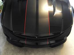 Black Mustang With Red Stripes To Stripe Or Not To Stripe Mustang