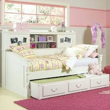 twin bed with drawers and bookcase headboard bed with bookcase headboard bedroom trundle a flexible type for kids