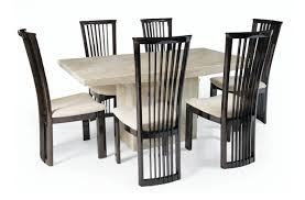 round table and chairs for sale medium crema marble dining set with 6 reni chairs thomas brown