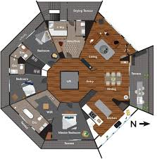 What Is The Floor Plan Mater Prize Home Tour Caro U0026 Kingi U0027s Octagon Apartment Glamour