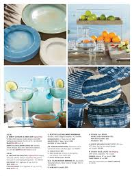 Pottery Barn Dishes Pottery Barn Summer 2016 Catalog Page 42 43