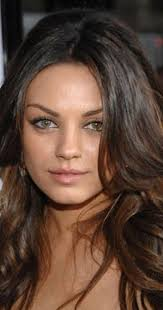 re create tognoni hair color mila kunis actress black swan the talented milena mila