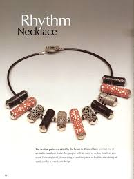 leather bead necklace images Book review beautiful leather jewelry the beading gem 39 s journal jpg