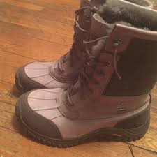 womens ugg boots 50 50 ugg boots authentic grey adirondack ugg boots size 8