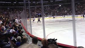 rogers arena vancouver bc section 114 row 4 youtube