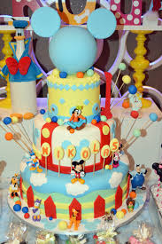and friends cake mickey friends party