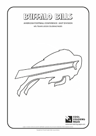 buffalo bills logo coloring page contegri com