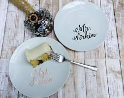 personalized wedding plate custom wedding plate etsy
