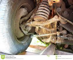 car suspension rusty retro car suspension stock photo image 45261298