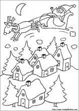 christmas coloring pages free printable easy pages younger