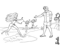 barbie coloring pages hellokids