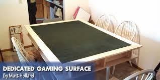 diy board game table coolest diy gaming tables webb pickersgill
