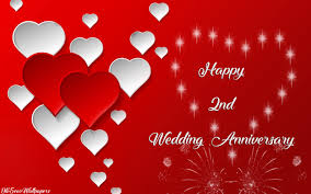 2nd wedding anniversary second marriage anniversary images downloads