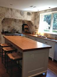 countertops pecan face grain wood countertops and island top with