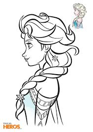 Coloriages La Reine des Neiges à imprimez gratuitement