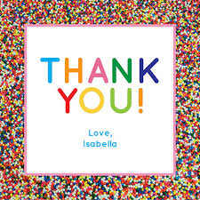 thank you cards oubly