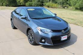 toyota corolla sport 2014 for sale used 2014 toyota corolla for sale muscatine ia