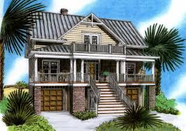 raised beach house delight 15019nc architectural designs