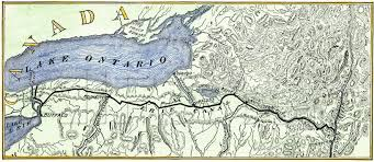 map of the erie canal file erie canal 1840 map jpg wikimedia commons