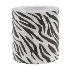 zebra tissue paper buy 3 ply toilet paper soft pulp white black zebra striped
