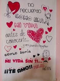 imagenes de carteles de amor para mi novia hechos a mano resultado de imagen para carteles de amor hechos a mano mensajes