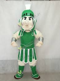 Trojan Halloween Costume Quality Spartan Trojan Knight Sparty Mascot Costume