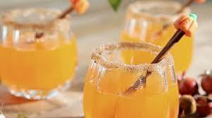 tropical drink emoji pumpkin sangria recipe sandra lee food network