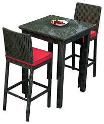 Big Lots Patio Sets by 3 Piece Patio Set With Umbrella Aqua Luxe Katonti 3 Piece Outdoor